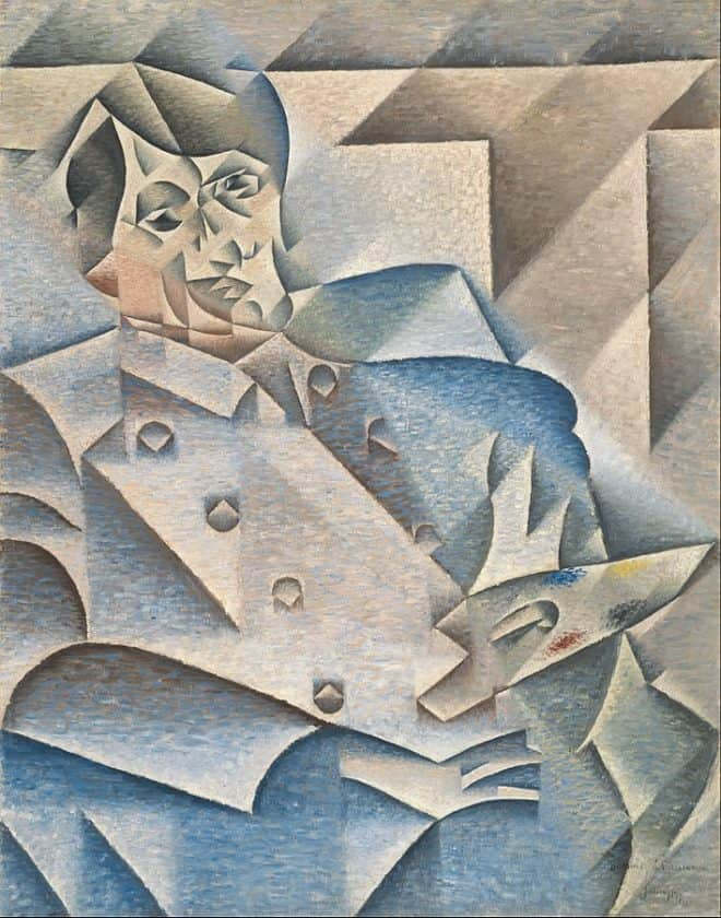 Kubismus Bild: Juan Gris, Portrait of Picasso, 1912, oil on canvas
