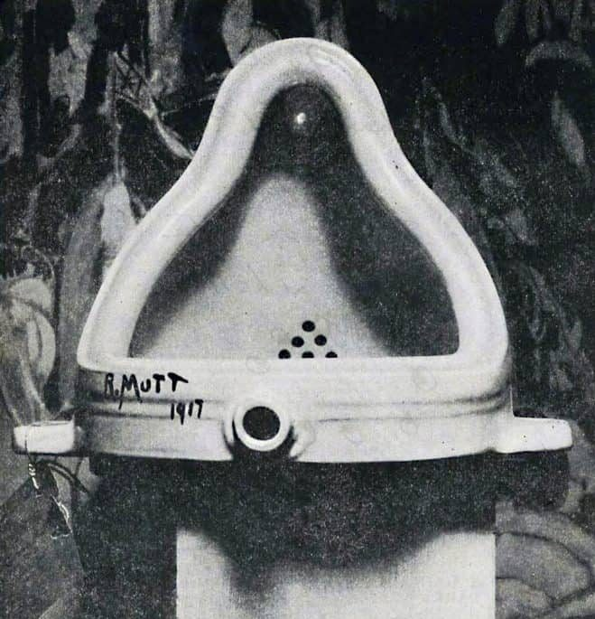 Bekannte Skulpturen: Duchamp Fountaine