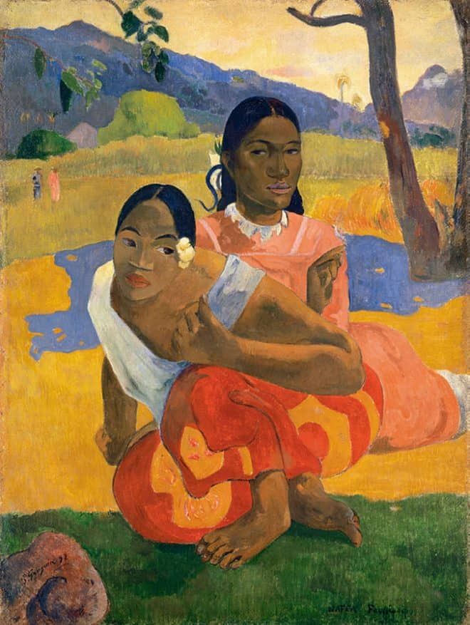 677px-Paul_Gauguin,_Nafea_Faa_Ipoipo__(When_Will_You_Marry_)_1892,_oil_on_canvas,_101_x_77_cm