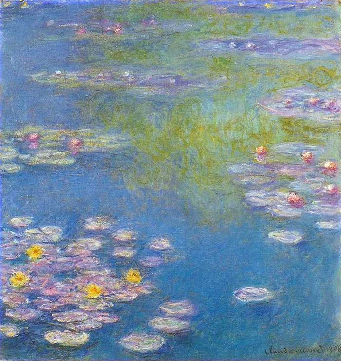Claude Monet Seerosen 1908