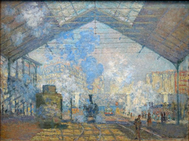 Claude Monet, The Gare Saint-Lazare