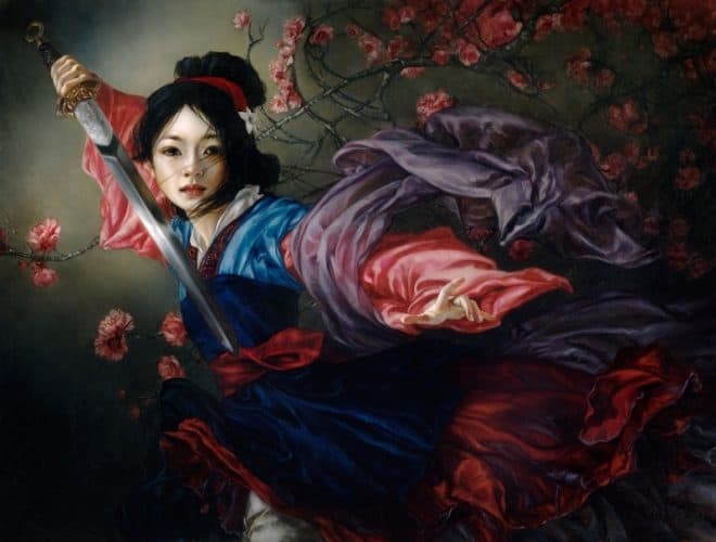 Elegant Warrior Mulan Heather Theurer