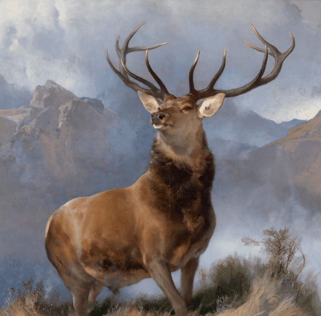 Monarch of the Glen Edwin Landseer