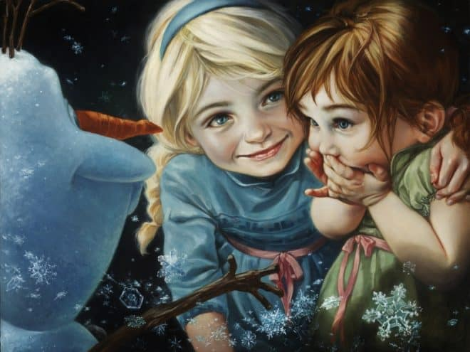 Never let it go Elsa Heather Theurer