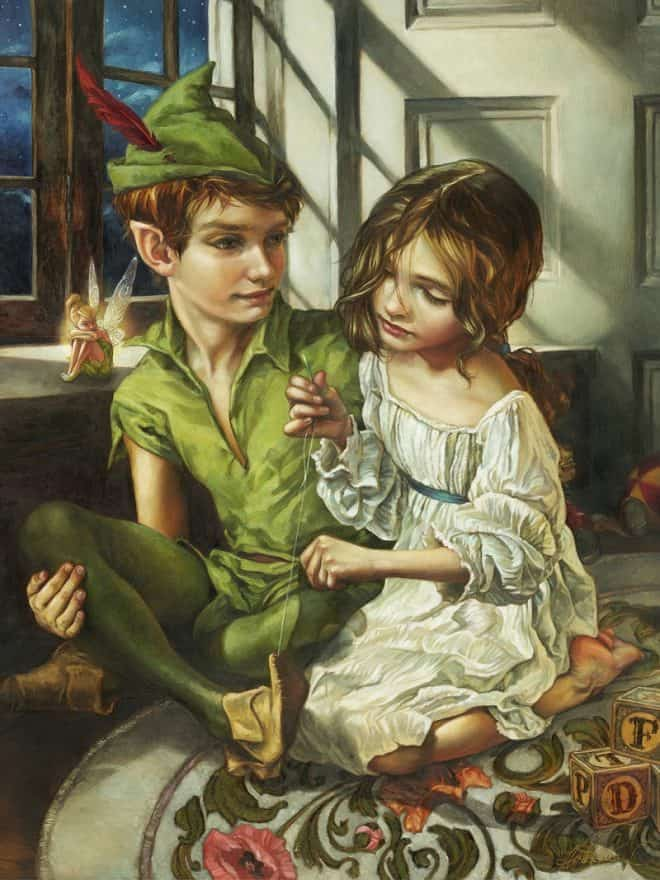 Sewn in His Shadow Peter Pan Heather Theurer
