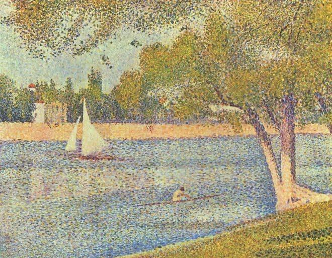 Die Seine La Grande Jatte