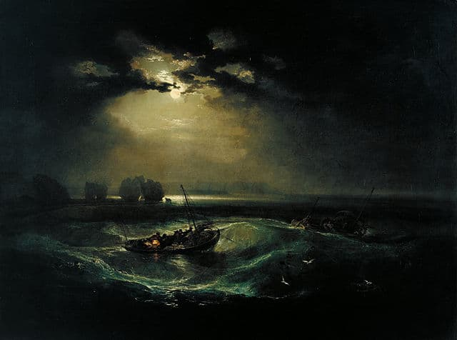 Fischer auf See William Turner