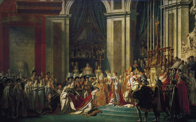 Jacques-Louis David, Le Sacre de Napoléon, 1805–1807