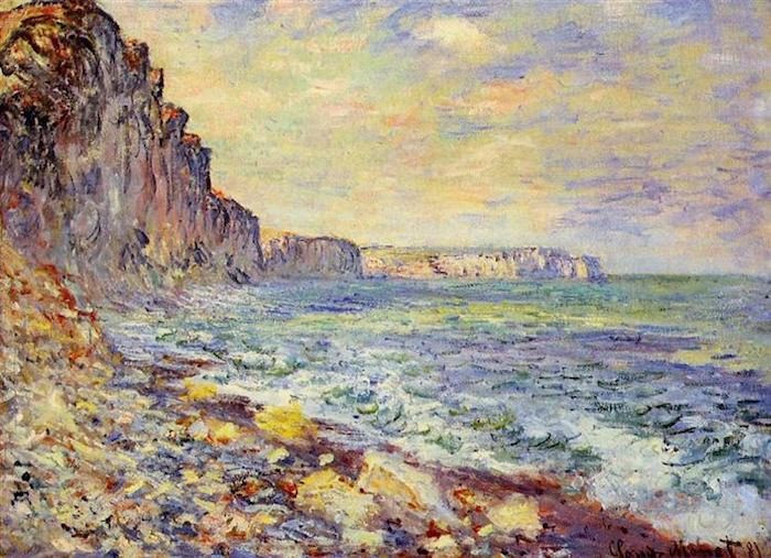 Claude Monet, Morning by the Sea, 1881