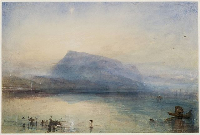 JMW Turner, The Blue Rigi, 1842, Tate Gallery