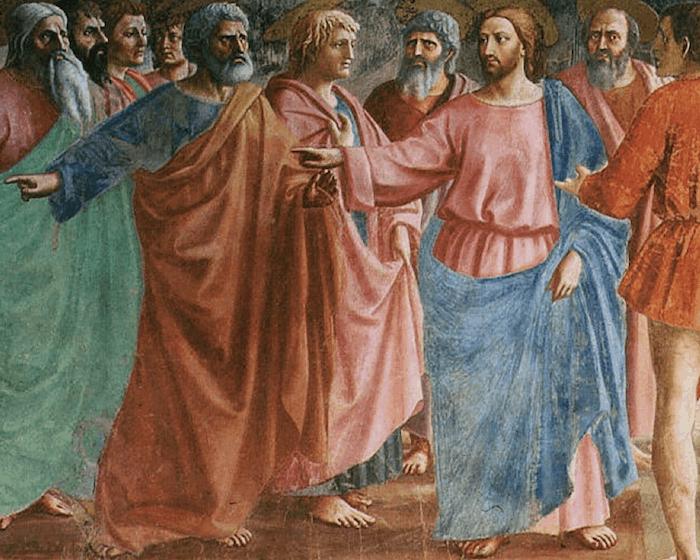 Petrus und Christus