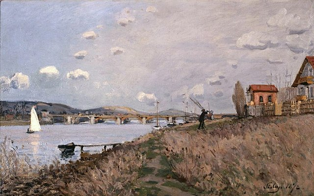 Alfred Sisley, The Bridge at Argenteuil, 1872