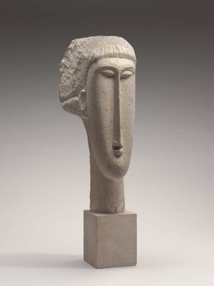 Amedeo Modigliani, Head, 1910/1911