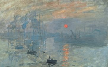 Claude Monet: Impression, Sonnenaufgang, 1872