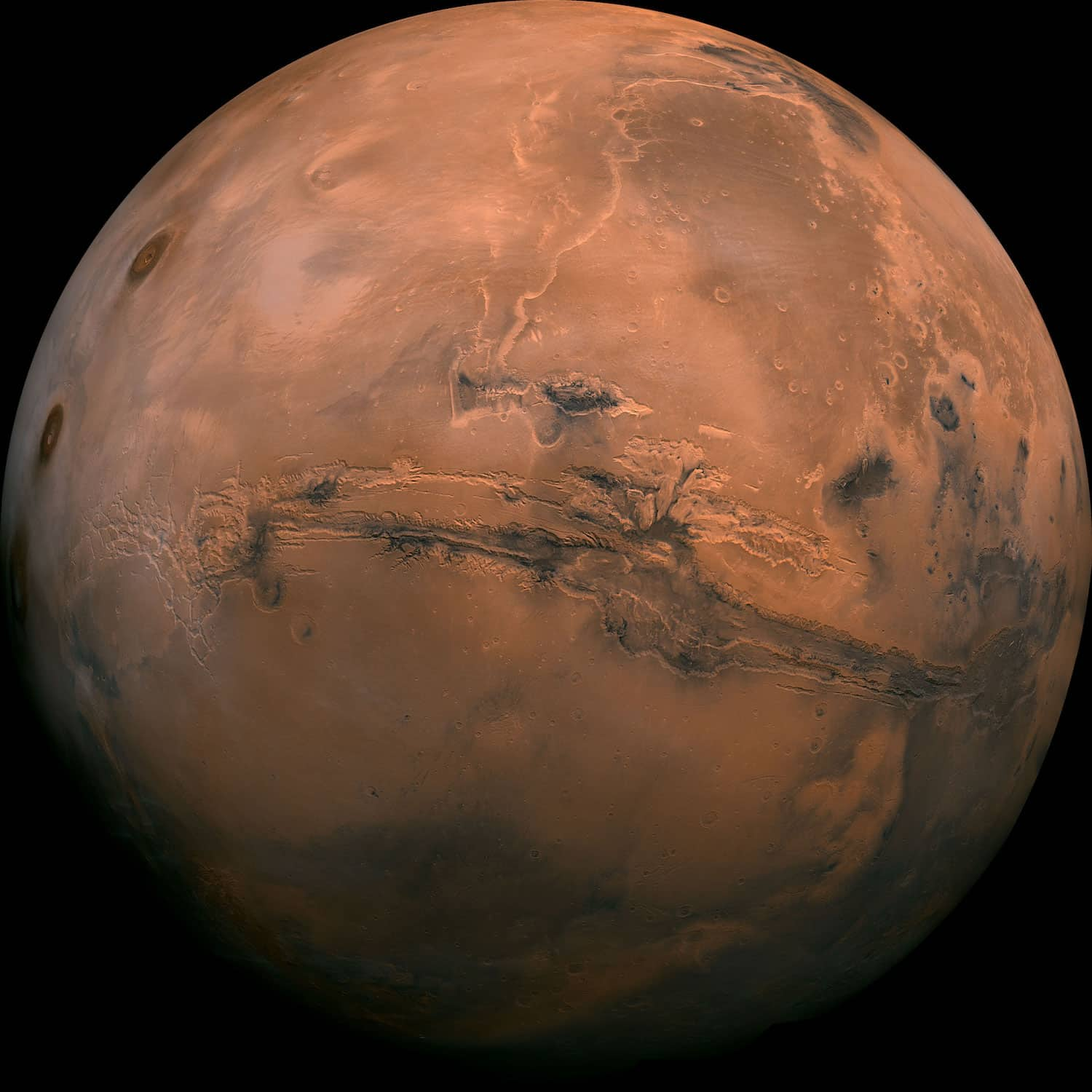 Valles Marineris Marsfoto
