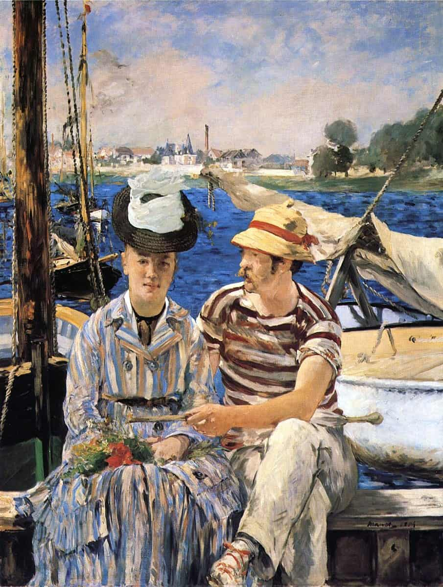 Édouard Manet, Argenteuil, 1874