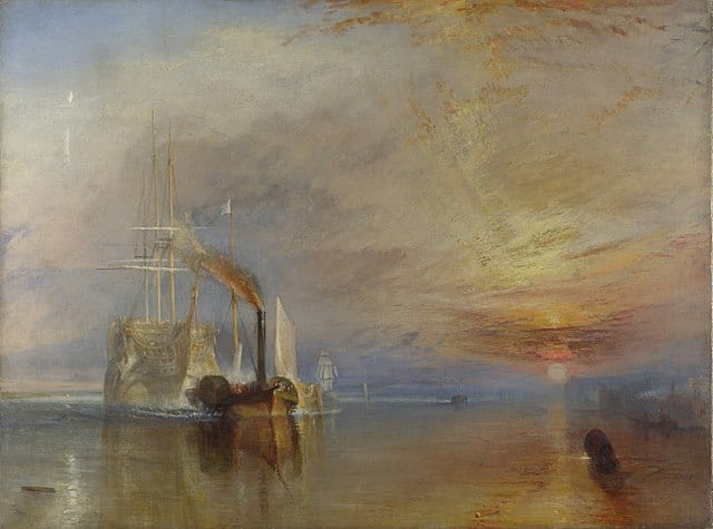 Kunstwerke in Filmen: The Fighting Temeraire. 1839, by Joseph Mallord William Turner