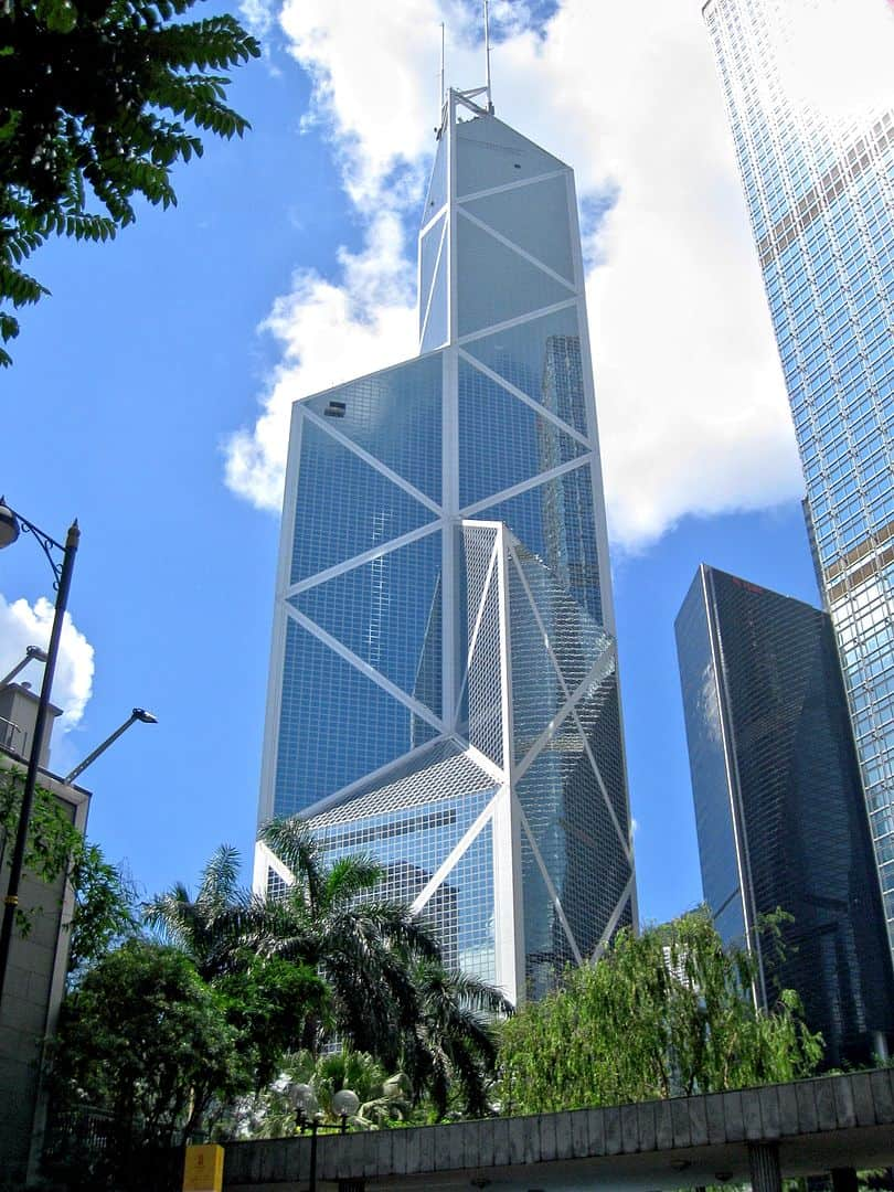 Bank of China Tower, Hongkog