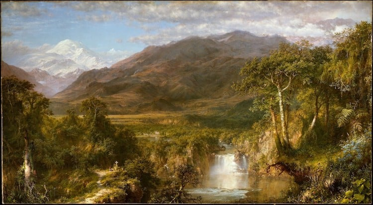 Frederic Edwin Church, Heart of the Andes, 1859