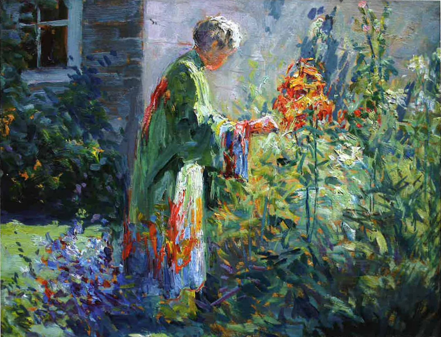 Matilda Browne, In the Garden, 1915