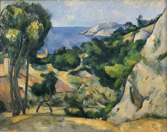 Paul Cézanne, L'Estaque, 1879-1883