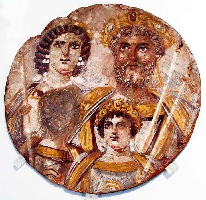 Septimius-Severus-Tondo