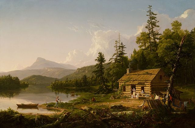 Thomas Cole, Home in the Woods (1847)