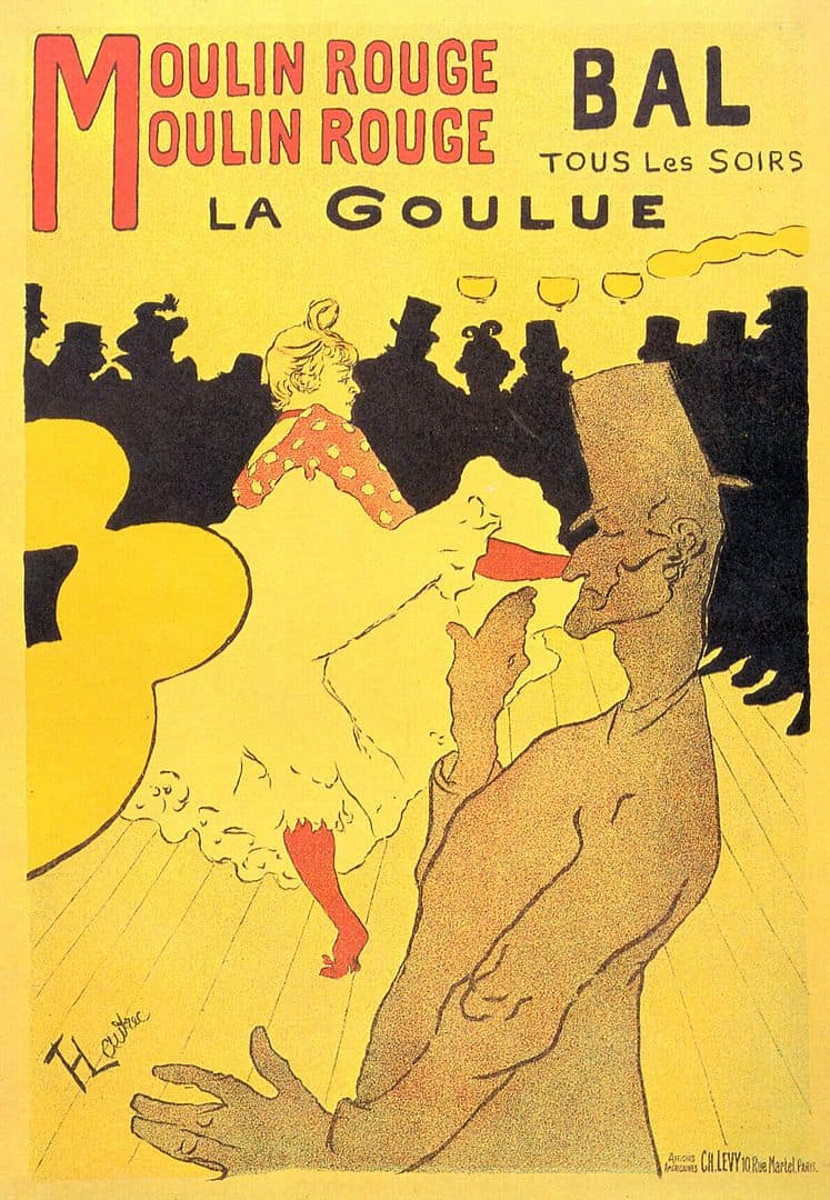 Henri de Toulouse-Lautrec, Moulin-Rouge - La Goulue, 1891
