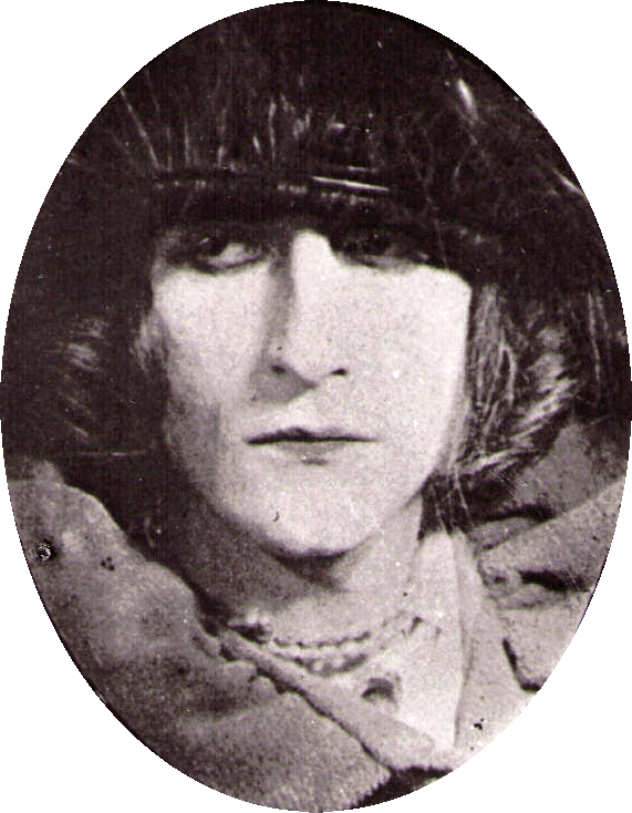 rose Sélavy (Marcel Duchamp), 1921 photograph by Man Ray