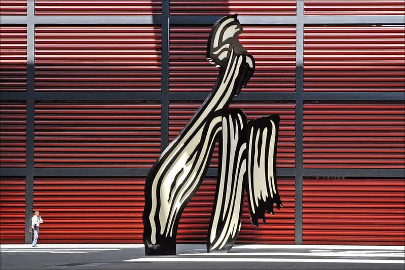 Roy Lichtenstein, Brushstokes, 1996
