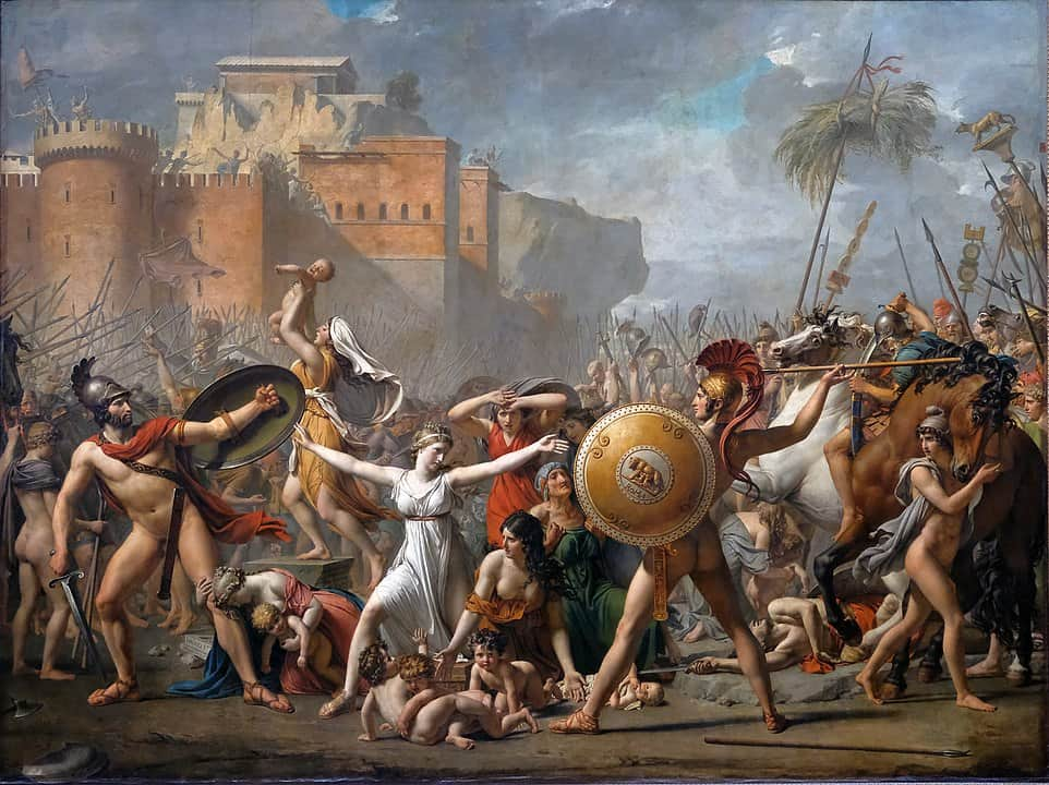 Jacques-Louis David, Die Sabinerinnen, 1799