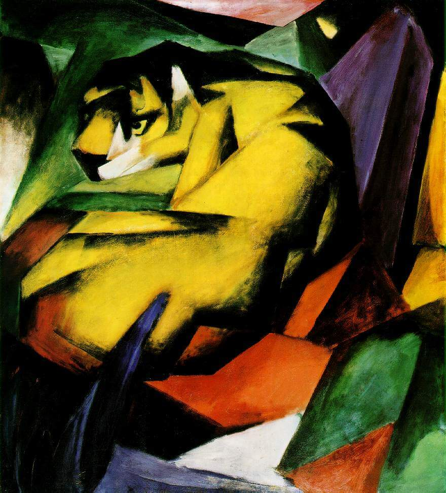 Franz Marc Archives Das Kreative Universum
