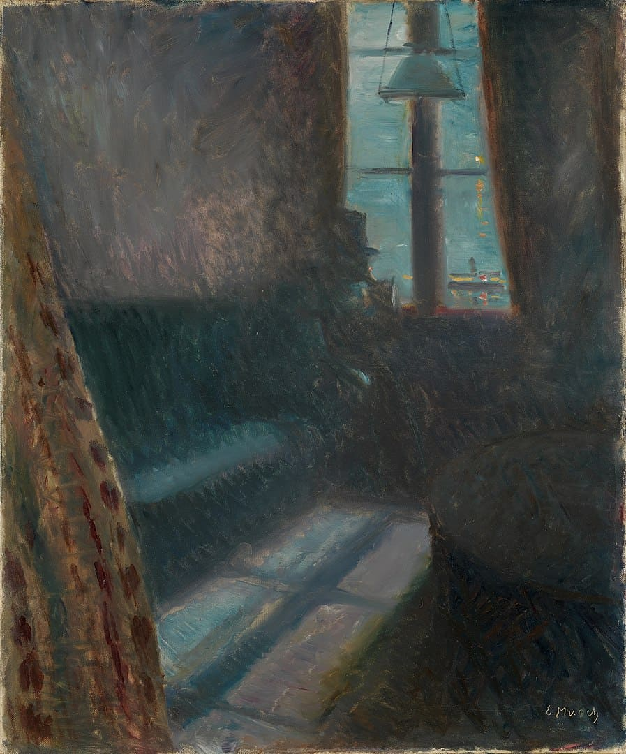 Edvard Munch, Nacht in St. Cloud, 1890