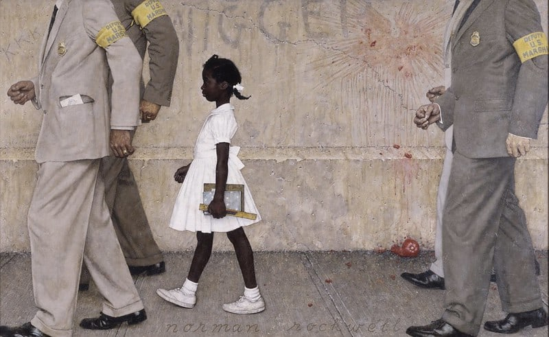 Norman Rockwell, The Problem We All Live With, 1963