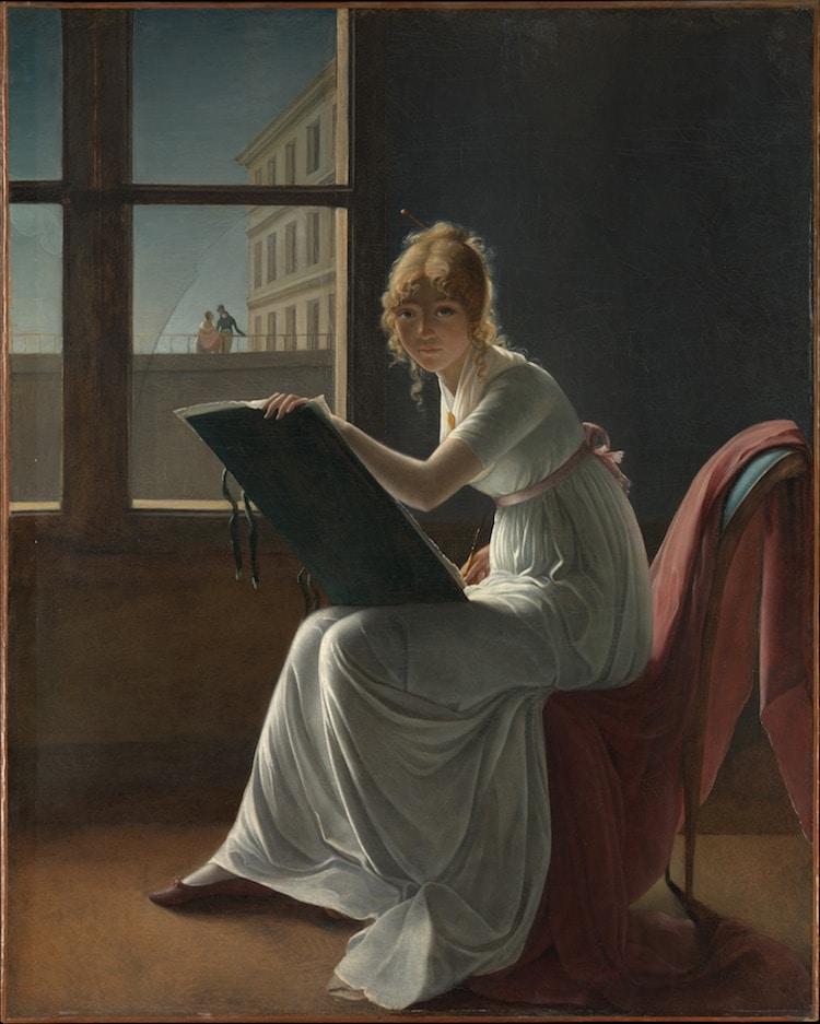 Marie-Denise Villers, Porträt von Marie Joséphine Charlotte du Val d'Ognes, 1801