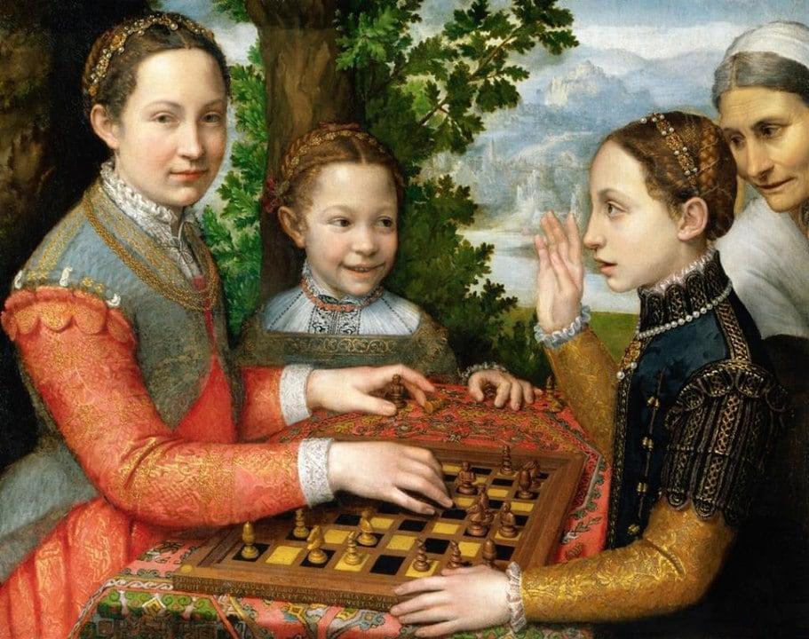 Sofonisba Anguissola, Das Schachspiel, 1555