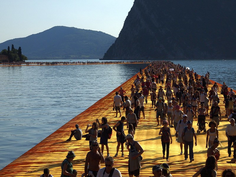 Christo, The Floating Piers, 2016